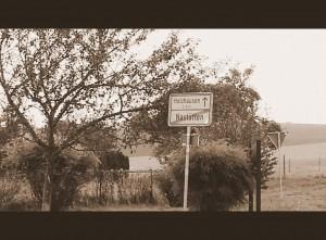 Schild Ausgang Nastätten