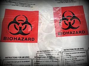 Biohazard Freestyle Rücksendetaschen